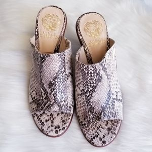 Vince Camuto | Animal print Mule Size 8
